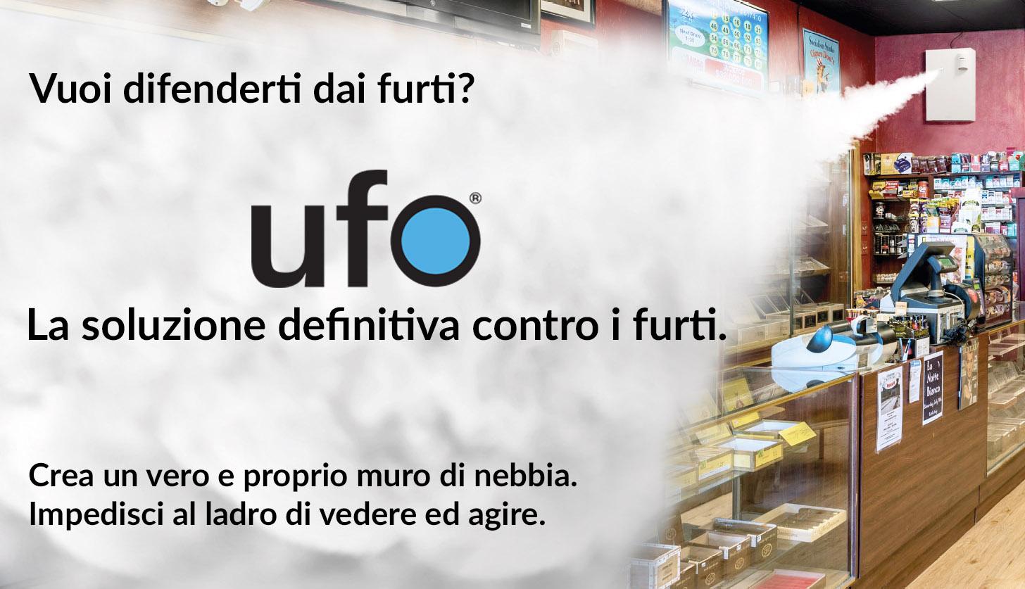 White Ufo -  Antifurto Nebbiogeno